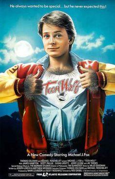 Teen Wolf Michael J Fox Movie Poster 11x17