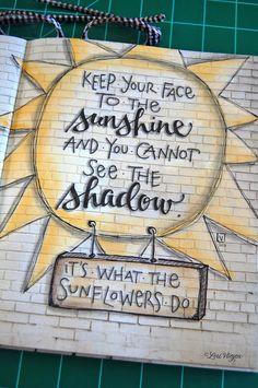 Sunflower mixed media - elvie studio art journal pages, art journaling, junk journal, Art Journal Pages, Art Journals, Bullet Journals, Kunstjournal Inspiration, Art Journal Inspiration, Wow Art, Bible Art, Smash Book, Altered Books