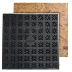 Basement subfloor tiles (or modules) replace traditional subfloor sheets. They are easy to lay but far more expensive, too.