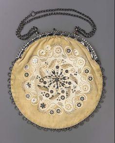 Bag, 1860-80, Western Europe.