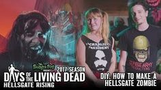 DIY: How to Make a HellsGate Zombie | #DOTLD 2017E4 Days of the Living Dead |: Daysofthelivingdead DIY: How to Make… More at hauntersweb.com