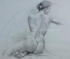 Author : Anónimo de la Piedra.Art Female Nude.Drawings http://anonimodelapiedra.blogspot.com.es/