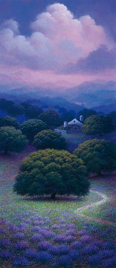 Sinfonía de violetas (Luis Romero)