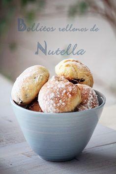 Bollitos rellenos de Nutella