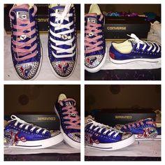 Houston Texans Custom Shoes (Converse)