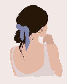 stuff to draw Graphic Design Illustration, Digital Illustration, Graphic Art, Woman Illustration, Cover Wattpad, Abstract Face Art, Digital Art Girl, Art Abstrait, Aesthetic Art