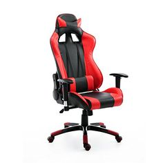 HomCom Executive Gaming Racing Reclining Office Chair - R... https://www.amazon.com/dp/B01MXBYZCA/ref=cm_sw_r_pi_dp_x_lRNmybTQMRN84
