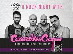 """Cresta Metálica Producciones » Conversatorio de Caramelos de Cianuro: """"La Carretera"""" en Hard Rock Cafe"""