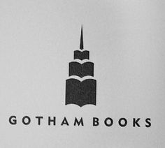 Gotham Books - negative space logos