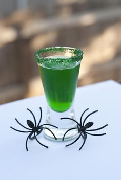 Minty Spider ~ A Year of Cocktails