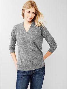 Brooklyn V-neck sweater   Gap