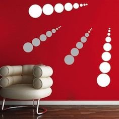 Dot Evolution Wall Decals-Each pack comes with 2 shooting dots. To get multiple colors you will need to place multiple orders of the same design pack Vinyl Wall Stickers, Vinyl Wall Decals, Wall Design, Diy Design, Custom Decals, All Wall, Wall Treatments, Vinyl Designs, Cool Walls