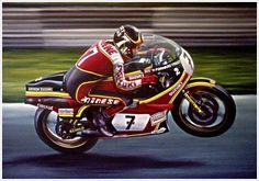 Barry Sheene my hero ! Save for this one man , I would not be riding ! Motorcycle Racers, Retro Motorcycle, Japanese Motorcycle, Suzuki Motorcycle, Moto Bike, Racing Motorcycles, Valentino Rossi, Old Bikes, Dirtbikes