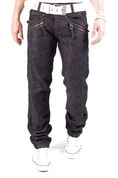 Kosmo Lupo Jeans Zip Pocket Schwarz Km029 1S1H.DE - www.1s1h.de/kosmo-lupo-jeans-zip-pocket-schwarz-km029.html
