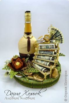 Holiday Party Discover 320 480 # - Decoration For Home Wine Bottle Crafts Bottle Art Craft Gifts Diy Gifts Creative Money Gifts Candy Arrangements Alcohol Gifts Chocolate Bouquet Candy Bouquet Wine Bottle Crafts, Bottle Art, Craft Gifts, Diy Gifts, Candy Arrangements, Creative Money Gifts, Alcohol Gifts, Chocolate Bouquet, Candy Bouquet