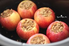 No better way to welcome in the Fall season than with these Crock Pot Cinnamon Stuffed Apples! A sweet treat that is quick, easy, and comforting. Leaving your house with a lovely cinnamon spice aroma! Ingredients: 6 Gala Apples 1/2 cup light brown sugar 2 teaspoons ground cinnamon 1/2 cup chopped pecans (use granola or …