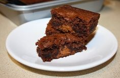 Hershey's Candies for Christmas Baking - Peanut Butter Surprise Brownies