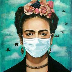Frida Kahlo Artwork, Frida Kahlo Portraits, Frida Art, Art And Illustration, Fall Background Wallpaper, Diego Rivera, Architecture Tattoo, Funny Tattoos, Jolie Photo