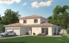 Photo maison contemporaine sur terrain en pente plans maison moderne en 2019 house plans - Mca maisons de la cote atlantique ...
