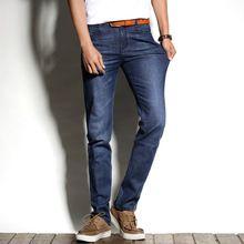 3b887188ef009 2016 Jussara LEE Brand New Arrival Spring Summer Jean Slim Regular Fit  Stretch… Moda Ellos · Pantalones vaqueros para hombre