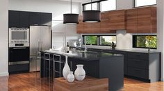 10 Inspiring Modern Kitchen Designs – My Life Spot Modern Kitchen Cabinets, Kitchen Furniture, Kitchen Interior, Home Interior Design, Kitchen Dinning Room, New Kitchen, Kitchen Decor, Style At Home, Contemporary Kitchen Design