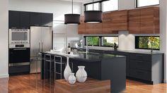 10 Inspiring Modern Kitchen Designs – My Life Spot Modern Kitchen Cabinets, Kitchen Furniture, Kitchen Interior, Home Interior Design, Kitchen Dinning Room, New Kitchen, Kitchen Decor, Contemporary Kitchen Design, Style At Home