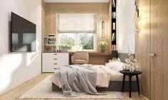 Room for girl on Behance Kids Room, Child Room, Behance, Interior Design, Bed, Furniture, Home Decor, Nest Design, Room Kids