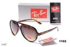 Ray Ban Women's Aviator Sunglasses Wine Brown Black Dot