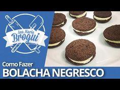 Ana Maria Brogui #102 - Como fazer bolacha Negresco - YouTube