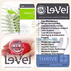 Do you have low energy, joint discomfort, brain fog, headaches, extra weight, or your not sleeping well? You need to take the Thrive Experience!  I have samples packaged and ready to go!   https://bayouthrivin.le-vel.com