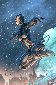 Catwoman by Brett Booth & Brian Skipper