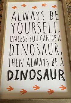 Dinosaur Room!