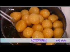Λουκουμάδες - Γλυκοπωλείο - YouTube Macaroni And Cheese, Sweets, Eat, Ethnic Recipes, Youtube, Desserts, Food, Kids, Bakken