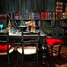 Tudor-inspired dining room   Traditional dining room   housetohome.co.uk