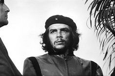 Che Guevara during a funeral service in Cuba. This photo would go on to become one of the most iconic images in modern history (Cuba, 1960).
