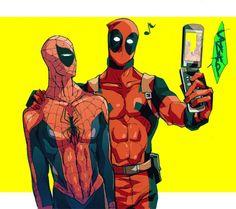 Deadpool VS Spiderman 2