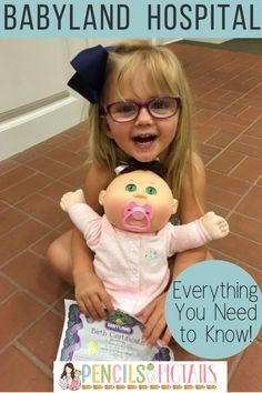 The Babyland General Hospital is a must see Cabbage Patch Dolls Birthplace in Cleveland, Georgia! I'm sharing everything you need to know in order to have a successful visit to this memorable stop with your toddlers or other little moms or dads in training! #cabbagepatch #babydolls #babyland #daughters #momswithdaughters