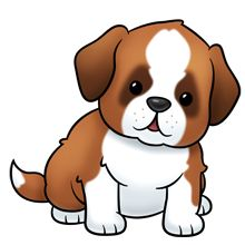 Clip Art Puppy Clip Art pictures of cute cartoon puppies clipart best silhouette cameo saint bernard dog lots clip art on this site