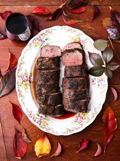 Koedoe-Kruis (Sirloin) met Shiraz-Sous Biltong, Venison Recipes, South African Recipes, Dessert Recipes, Desserts, Cooking Tips, Steak, Meals, Wordpress