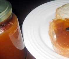 Recipe Easy Peach Jam by sonjacooks, learn to make this recipe easily in your kitchen machine and discover other Thermomix recipes in Sauces, dips & spreads. Vegan Gluten Free, Vegan Vegetarian, Canning Tips, Peach Jam, Recipe Community, Recipe Search, Dip Recipes, Chutney, Bellini