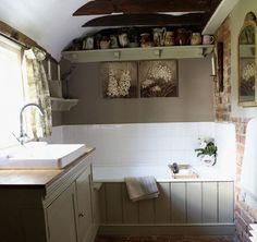 Click Pic for 30 Small Bathroom Decorating Ideas - French Country - Small Bathroom Remodel Ideas