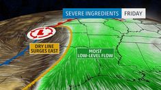 The first week of spring will Kick Severe Thunderstorm Threat, Including Tornadoes, Kicks Off Late Thursday in Plains, Sweeps off South Friday, into Gulf of Mexico by Saturday. Severe Weather Protection.
