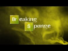 A Mashup of Audio From 'Breaking Bad' and Animated Footage From 'SpongeBob SquarePants'