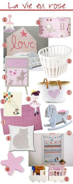 #Decopedia4: Decorar la habitación infantil en rosa sin ser un cursi / Decoration in pink (not being tacky)