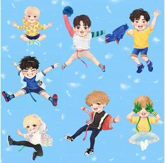 GOT7 chibi Just Right