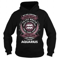 Awesome Tee Aquarius sweatshirt birthday for who was born in was born in January or february T shirt