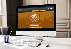 Sigma Tau Gamma Branding - Website Welcome Page - Rhyme & Reason Design