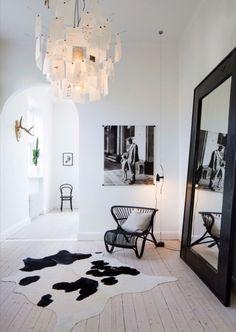 Wall mirrors.