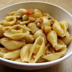Jumbo Shell Pasta With Soupy Flavor by satya