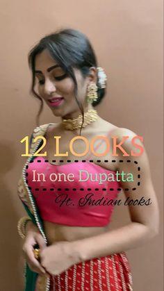 Girls Dresses Sewing, Stylish Dresses For Girls, Beautiful Dress Designs, Stylish Dress Designs, Saree Wearing Styles, Diy Fashion Hacks, Indian Wedding Wear, Fashion Illustration Dresses, Diy Scarf